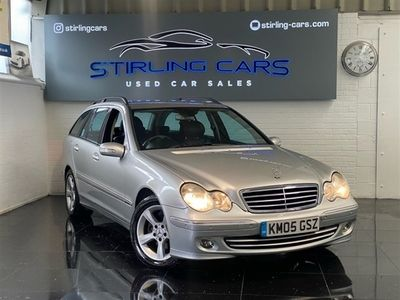 used Mercedes C220 C-Class EstateCDI Avantgarde SE 5d Auto (04)