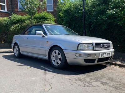 used Audi Cabriolet 1.8 Final Edition 2dr