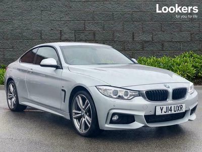 used BMW 420 4 SERIES DIESEL COUPE d xDrive M Sport 2dr Auto
