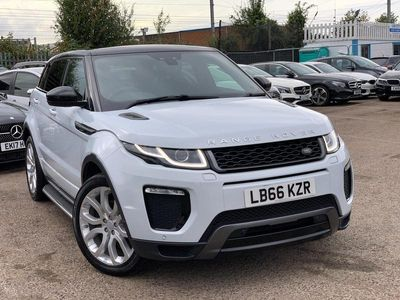 used Land Rover Range Rover evoque TD4 HSE DYNAMIC AUTO PANORAMIC ROOF NAV CAMERA 5-Door