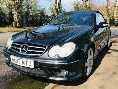 used Mercedes CLK200 CLK 1.8Kompressor Sport Cabriolet 2dr