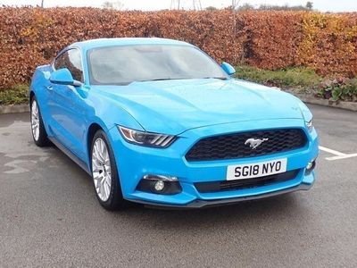 used Ford Mustang 2.3 EcoBoost 2dr Coupe 2018