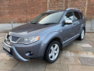 used Mitsubishi Outlander 2.0 DI-D Warrior SUV 5dr Diesel Manual (183 g/km, 138 bhp)