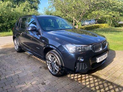 used BMW X3 2.0 20d M Sport Sport Auto xDrive 5dr