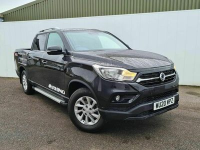 used Ssangyong Musso 2.2d Rhino Double Cab Pickup Auto 4WD LWB EU6 4dr