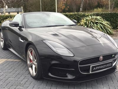 used Jaguar F-Type Convertible 5.0 V8 R Auto AWD (s/s) 2dr