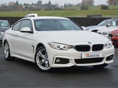 used BMW 420 4 Series 2.0 d M Sport 2dr Auto