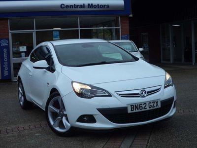 used Vauxhall Astra GTC 1.4T SRi (s/s) 3dr FULL LEATHER
