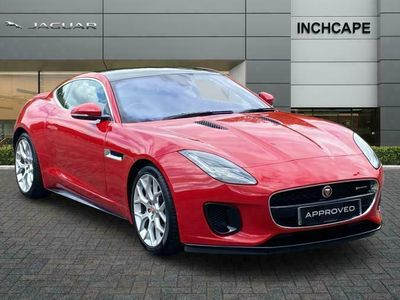 used Jaguar F-Type COUPE 3.0 Supercharged V6 R-Dynamic 2dr Auto