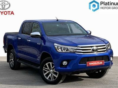 used Toyota HiLux Invincible D/Cab Pick Up 2.4 D-4D Auto pickup 2018