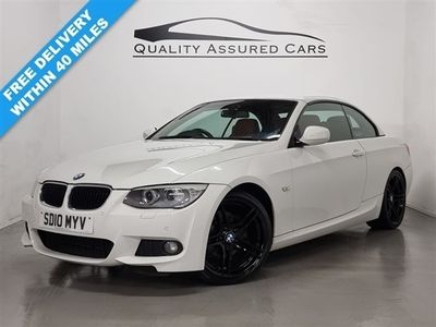 used BMW 320 Cabriolet 2.0 320I M SPORT 2d 168 BHP