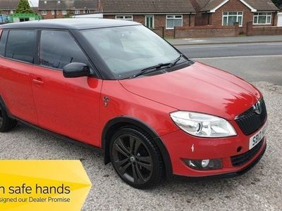used Skoda Fabia MONTE CARLO TDI CR - FULL MOT - ANY PX WELCOME - 68K 5-Door