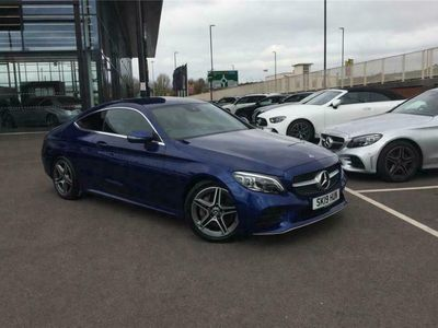 used Mercedes C300 C CLASS DIESEL COUPEAMG Line Premium 2dr 9G-Tronic
