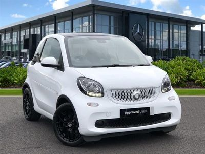 used Smart ForTwo Coupé SPECIAL EDITIONS 1.0 White Edition 2dr