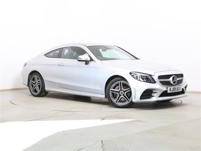 used Mercedes C220 C-Classd AMG Line Edition Coupe
