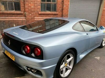 used Ferrari 360 Coupe Modena F1 2d