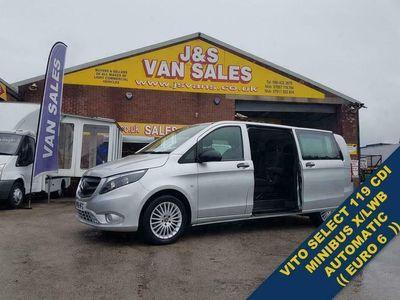 used Mercedes Vito 119 BLUETEC TOURER SELECT AUTO 190 BHP EURO 6
