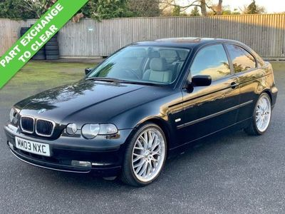 used BMW 318 Compact 3 SERIES 2.0 TI SE 3d 141 BHP PART EXCHANGE TO CLEAR
