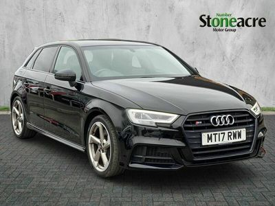 used Audi A3 Sportback 2.0 TFSI Black Edition 5dr Petrol S Tronic quattro (s/s) (310 ps)