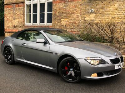 used BMW 501 6 Series 3.0 635d Convertible 2dr Diesel Automatic (190 g/km,bhp)