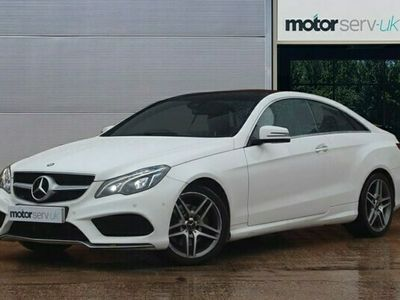 used Mercedes E220 E Class 2.1BLUETEC AMG LINE PREMIUM 2d 174 BHP Premium Spec, ULEZ Exempt.