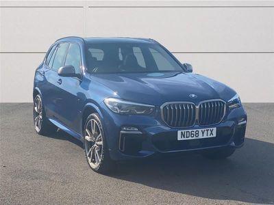 used BMW X5 DIESEL ESTATE xDrive M50d 5dr Auto 3.0