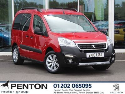 used Peugeot Partner Tepee 1.2 Puretech 110 Outdoor 5Dr