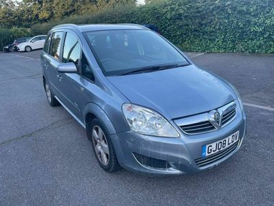used Vauxhall Zafira 1.9 CDTi Breeze Plus 5dr