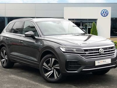 used VW Touareg 3.0 TDI SCR 286PS 4MOTION R-Line Tech 5dr