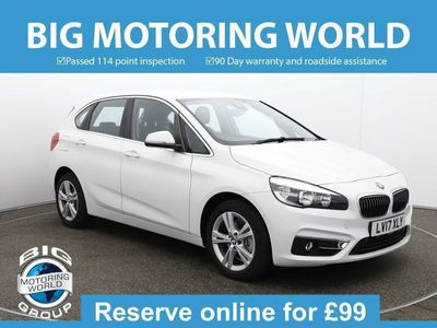 used BMW 218 Active Tourer 2 Series D LUXURY for sale | Big Motoring World