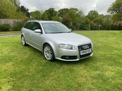 used Audi A4 Avant 2.0 TDI S line 5dr