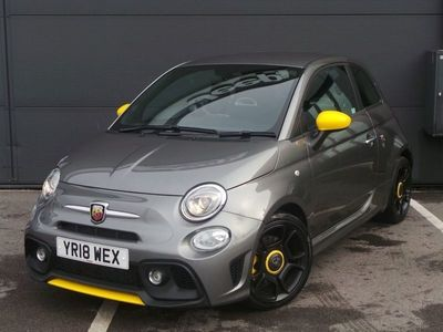 used Abarth 595 1.4 T-JET 160PS TROFEO 3DR 3 door hatchback hatchback special edition