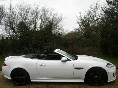used Jaguar XK 5.0 Supercharged V8 R 2dr Auto Convertible 2012