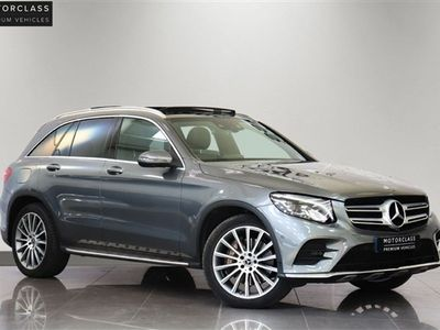 used Mercedes GLC350 GLC 3.0D 4MATIC AMG LINE PREMIUM PLUS 5d 255 BHP