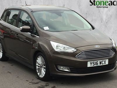 used Ford Grand C-Max Titanium Tdci 2.0 TDCi Titanium MPV 5dr Diesel Powershift (s/s) (150 ps)