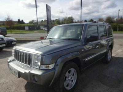 used Jeep Commander Station Wagon 3.0 CRD Limited 5d Auto