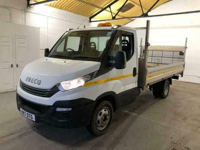 used Iveco Daily 35C14 DROPSIDE WITH TAIL-LIFT TRW EU6