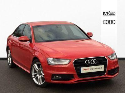 used Audi A4 2014 Hessle 2.0 TDI 177 S Line 4dr