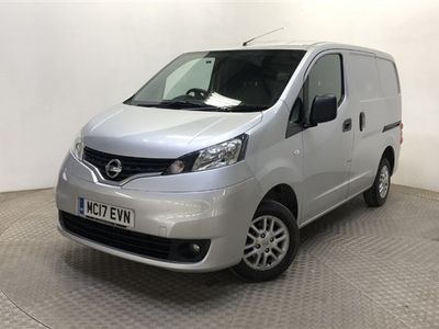 used Nissan NV200 EUR0 6 TEKNA MODEL ALLOYS COLOUR CODED TWIN SIDE DOORS AIR CON CRUISE REVERSE CAMERA +VAT