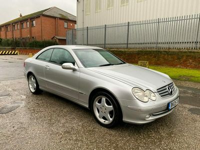 used Mercedes CLK200 Elegance 2dr Automatic LPG Converted 320 MILES £22