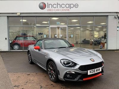used Abarth 124 Spider ROADSTER 1.4 T MultiAir 2dr Auto 2018/18