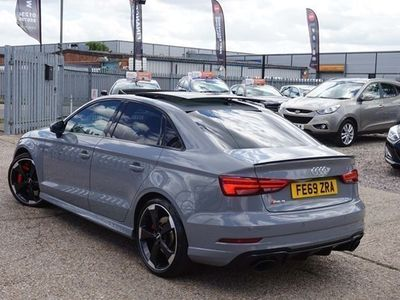 used Audi A3 Saloon RS 3 Sport Edition 400PS Quattro S Tronic auto 4d