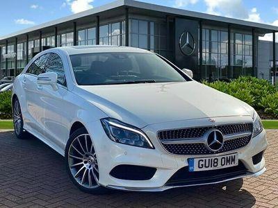 used Mercedes CLS220 CLS ClassAmg Line Premium Plus 4Dr 7G-Tronic Saloon 2018