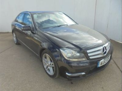 used Mercedes C350 C CLASSCDI BlueEFFICIENCY AMG Sport 4dr Auto Black Automatic Diesel