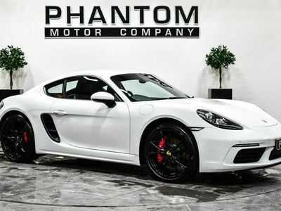 used Porsche 718 2.5T S (s/s) 2dr OVER £52K WHEN NEW+20''ALLOYS!!