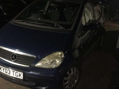 used Mercedes A140 A-Class HatchbackElegance 5d Auto
