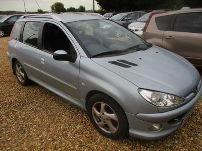 used Peugeot 206 1.6 HDi Verve 5dr