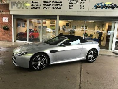 used Aston Martin V8 Vantage 4.7ROADSTER 2d AUTO 420 BHP SAT/NAV/BLUETOOTH/HEATED LEATHER/SH