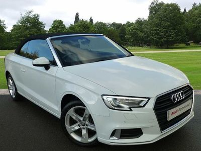 used Audi A3 Cabriolet Sport 1.4 TFSI cylinder on demand 150 PS S tronic