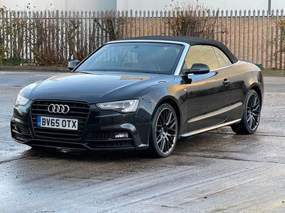 used Audi A5 Cabriolet Cabriolet 2.0 TDI S line Special Edition Plus Multitronic (s/s) 2dr